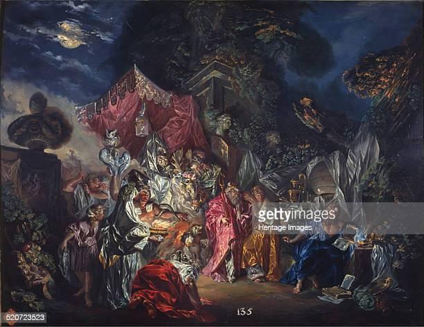 The watchfulness of Diogenes Found in the collection of Real Academia de Bellas Artes de San Fernando Madrid
