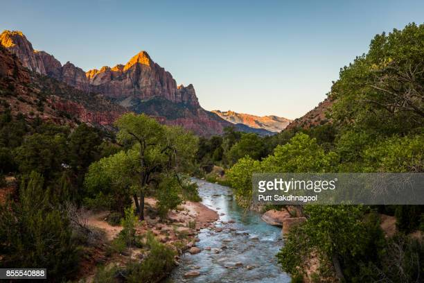 The Watchman at Sunrise, Zion National Park