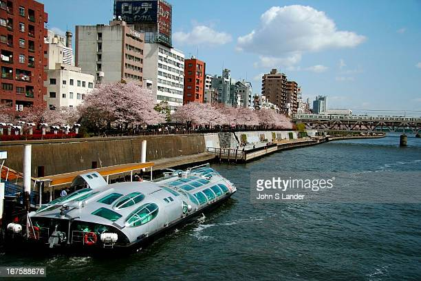 The water bus 'Himiko' designed by Leiji Matsumoto one of the most renowned Japanese 'anime' or comic book artists 'Himiko' was designed with 3D...