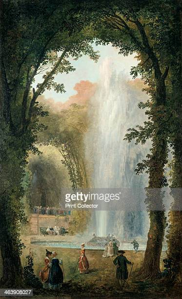'The Water Feature of the Grove of the Museum of Marly' late 18th/early 19th century