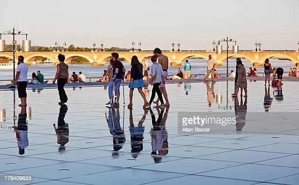 The 'Water mirror' of Bordeaux