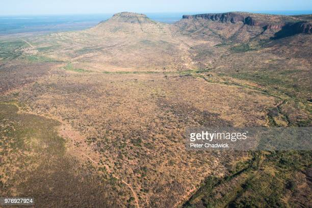 the waterberg  mountain range, marataba private game reserve, limpopo, south africa - wildlife reserve stock pictures, royalty-free photos & images