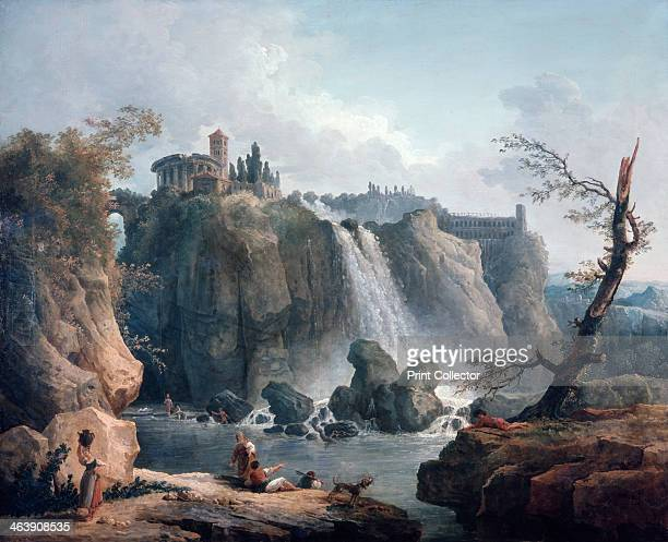 'The Waterfall at Tivoli' 18th/early 19th century From the Musee du Louvre Paris
