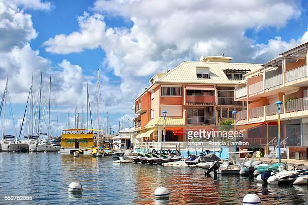 The waterfront at Marigot, St Martin