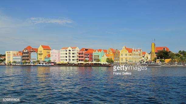 The waterfront of Willemstad (Punda side) , Curacao, Netherlands Antilles