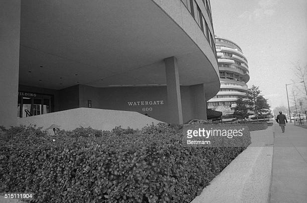 The Watergate complex as seen from the Kennedy Center This was the site of the illegal activities that led to the historical impeachment and...