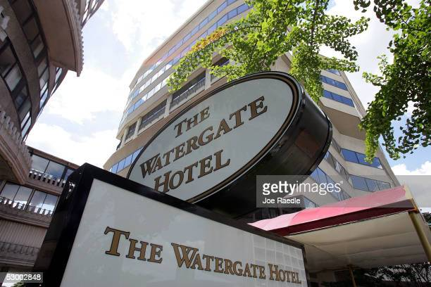 The Watergate hotel and office building is seen May 31 2005 in Washington DC A Vanity Fair magazine article reports that a retired FBI official Mark...