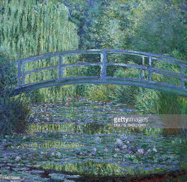 The Waterlily Pond Green Harmony by Claude Monet Paris Musée D'Orsay