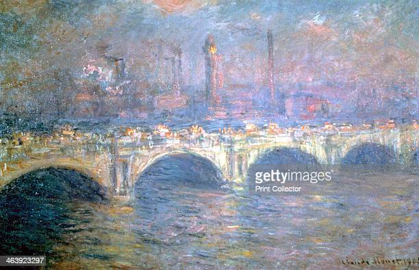 'The Waterloo Bridge London' 1903 Located in the collection of the Carnegie Institute Museum of Art Pittsburgh Pennsylvania USA