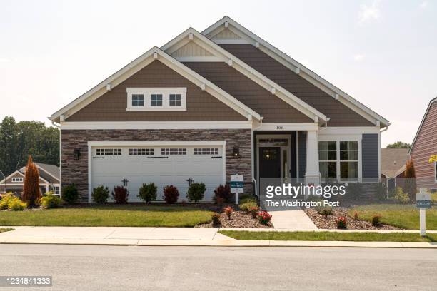 The Waverly Model Home at Hawthorne Greene on August 10, 2021 in La Plata Maryland.