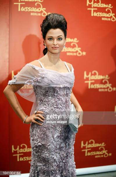 The wax figure of Indian Bollywood star and former Miss World Aishwarya Rai is pictured at the Indian embassy in Berlin Germany 18 December 2013For...