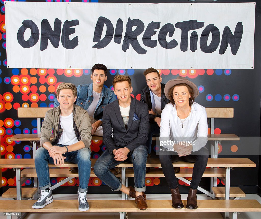 Wax Figures Of One Direction Displayed At Madame Tussauds Orlando : News Photo