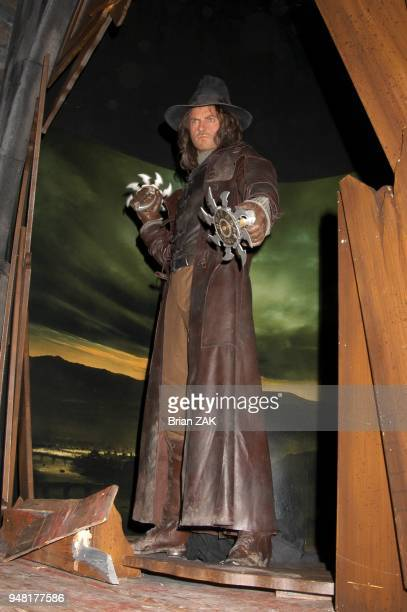 The wax installment of Van Helsing at Madame Tussauds New York launching the terrifying new interactive experience Chamber Live featuring Van Helsing...