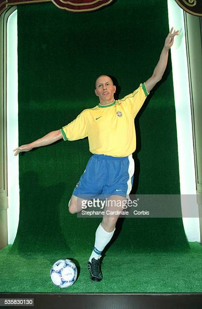The wax model of Ronaldo the Brazilian footballer