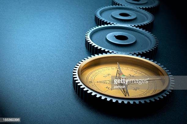 the way forward - compass stock photos and pictures