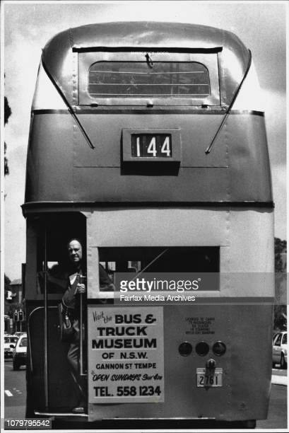 The way it was today was the 60th Birthday for Sydney busses celebrated by the state transit authority with free rides on the first large vintage...