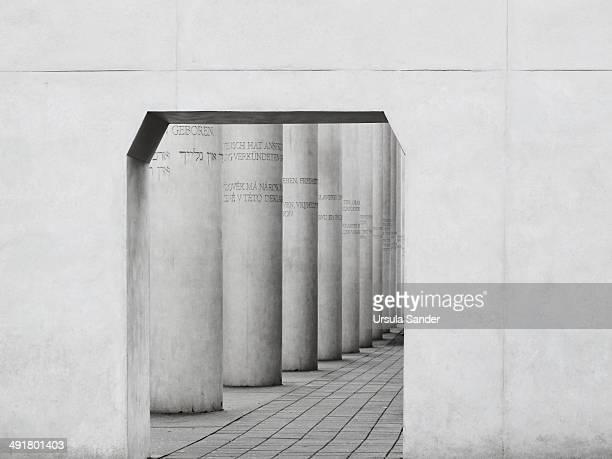 Straße der Menschenrechte is a monumental outdoor sculpture in Nuremberg Germany