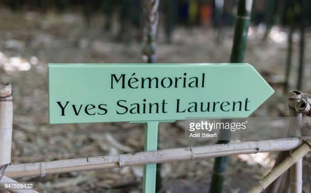 The way of to Yves Saint Laurent Memorial(Majorelle garden, Marrakech)