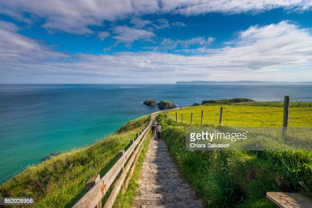 The way to Carrick-a-Rede