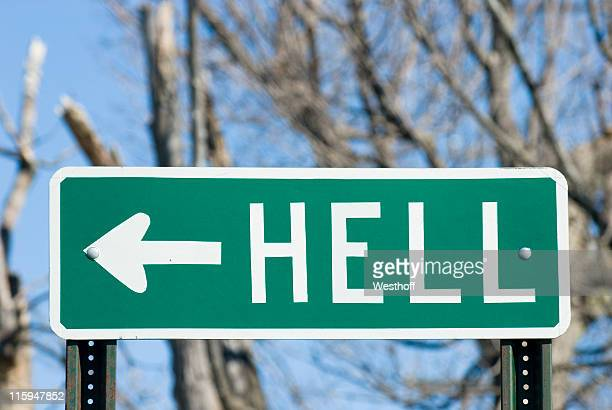 the way to hell - hell stock pictures, royalty-free photos & images
