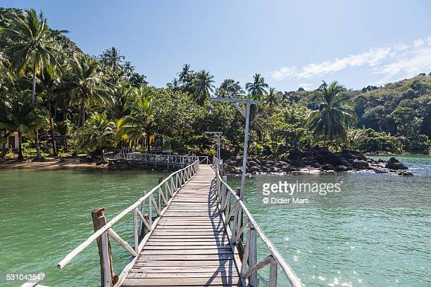 the way to paradise - didier marti stock photos and pictures