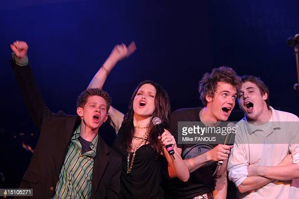 The WB One Tree Hill Tour at the Wiltern Theatre in Los Angeles United States on March 09 2005 The cast of One Tree Hill at the WB One Tree Hill Tour