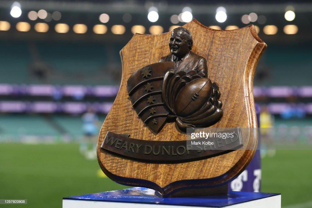 Super Rugby AU Rd 4 - Waratahs v Rebels : News Photo