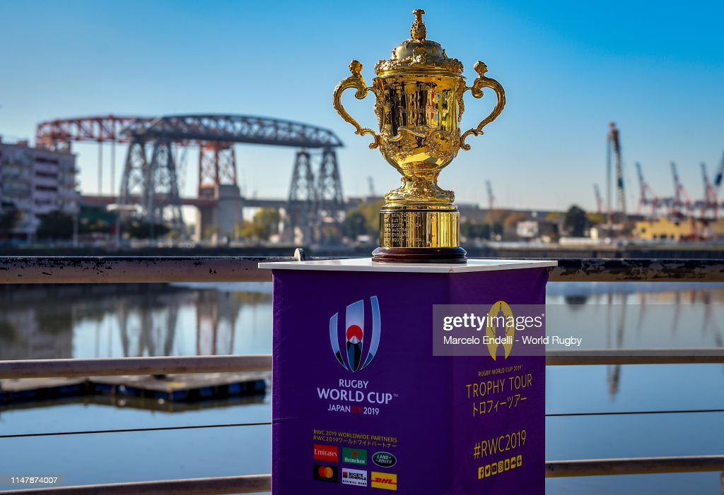 Rugby World Cup 2019 Trophy Tour - Argentina: Day Two : News Photo
