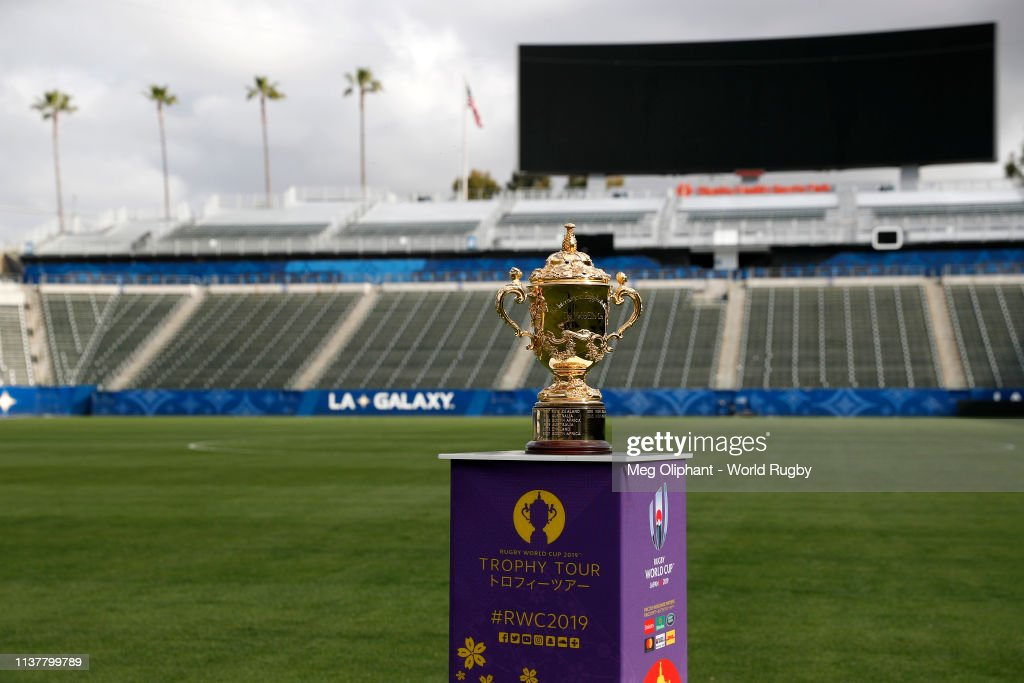 CA: Rugby World Cup 2019 Trophy Tour - USA: Day Three