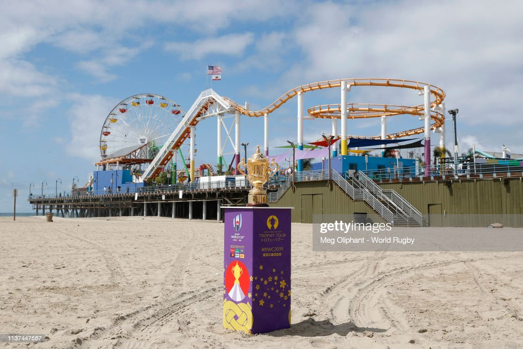 CA: Rugby World Cup 2019 Trophy Tour - USA: Day One