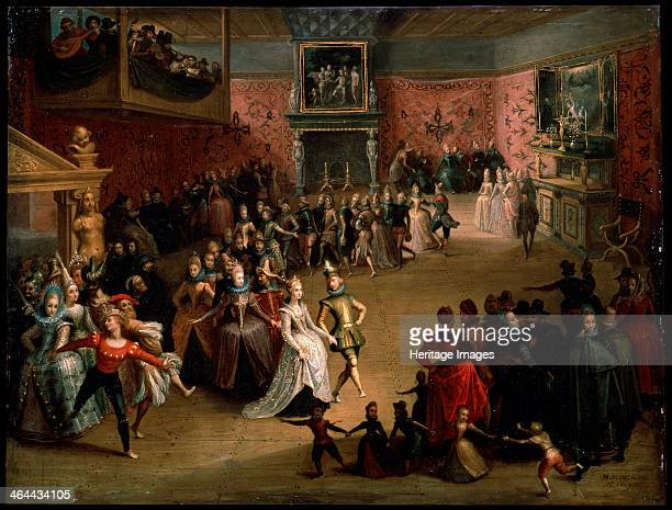 'The Wedding Ball' 1604 Found in the collection of the State A Pushkin Museum of Fine Arts Moscow