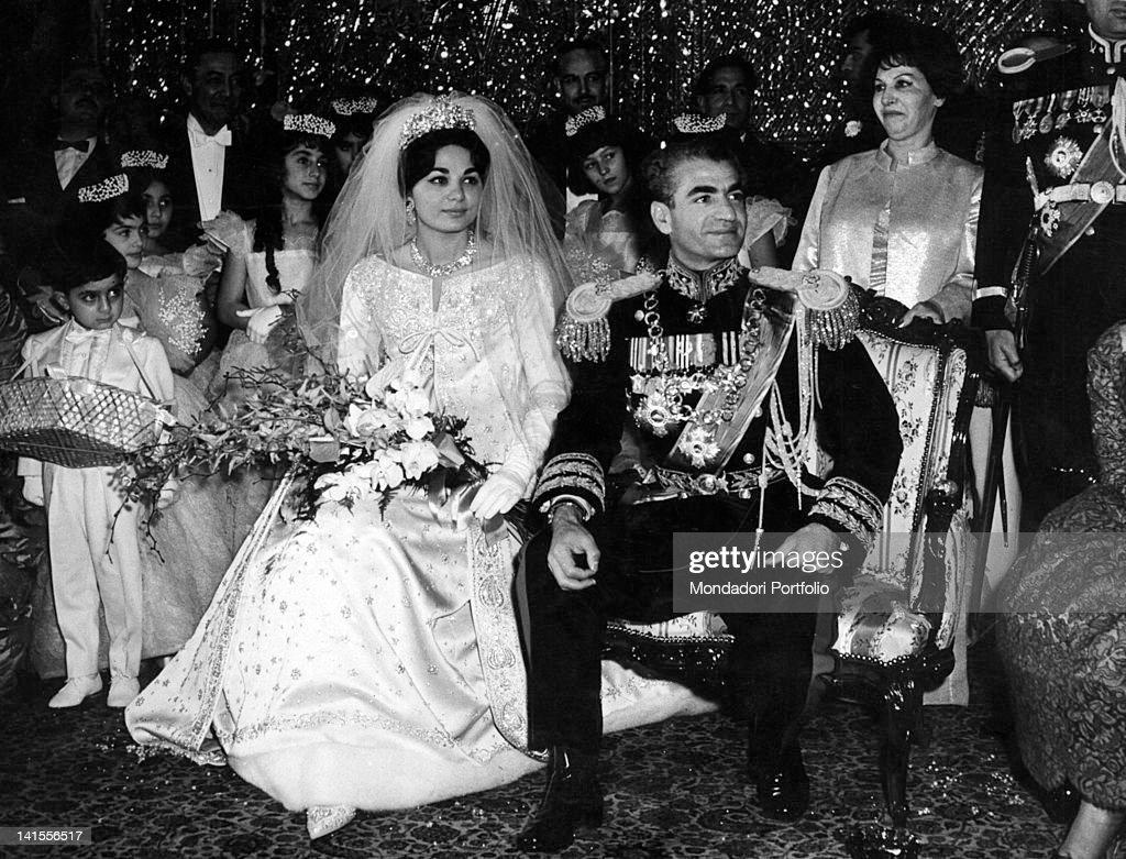 The Marriage Of Reza Pahlavi And Farah Diba : News Photo