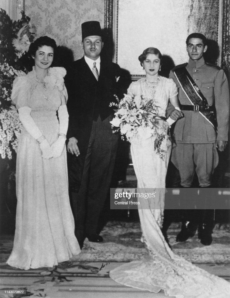 Egyptian Princess Marries Iranian Prince : News Photo