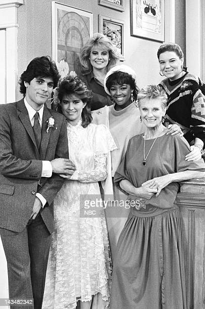 LIFE The Wedding Day Episode 8 Pictured Jsu Garcia as Enrico Quinterez Nancy McKeon as Joanne 'Jo' Polniaczek Lisa Whelchel as Blair Warner Kim...