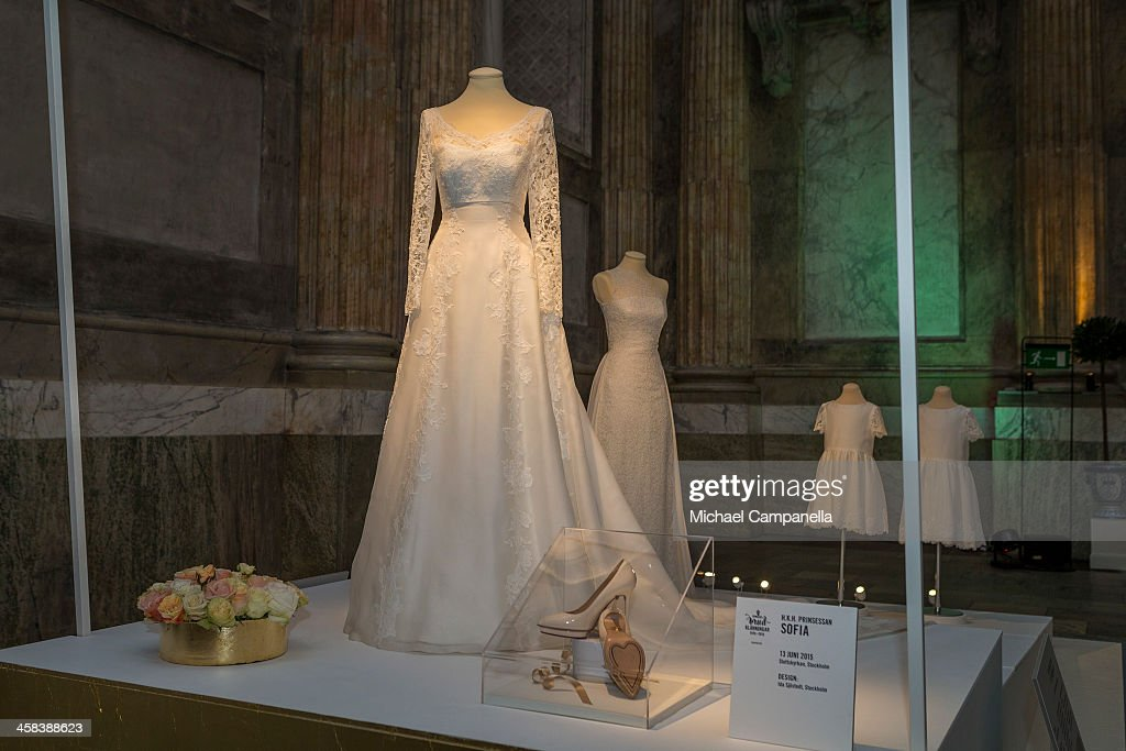 Swedish Royal Wedding Dresses Exhibition at Royal Palace : News Photo