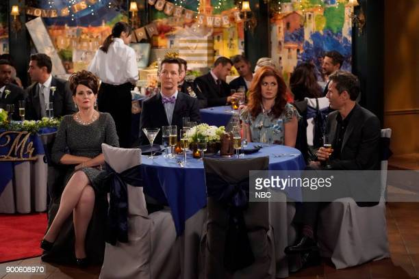 WILL GRACE 'The Wedding' Episode 110 Pictured Megan Mullally as Karen Walker Sean Hayes as Jack McFarland Debra Messing as Grace Adler Eric McCormack...