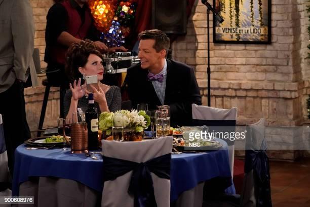 WILL GRACE 'The Wedding' Episode 110 Pictured Megan Mullally as Karen Walker Sean Hayes as Jack McFarland