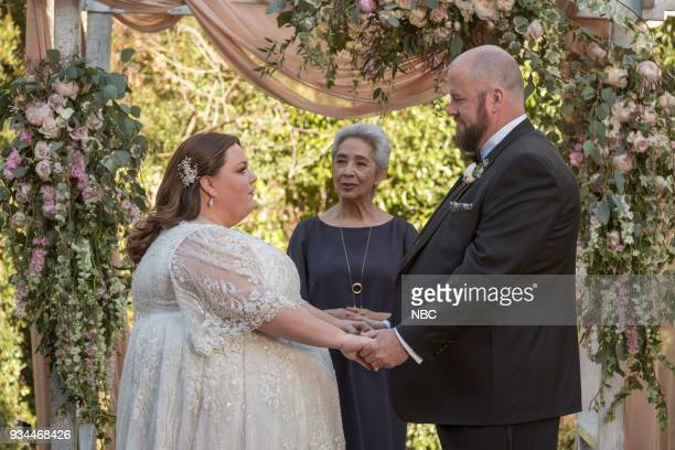 "The Wedding"" Episode 218 -- Pictured: Chrissy Metz as Kate, Chris Sullivan as Toby --"