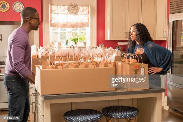 US The Wedding Episode 218 Pictured Sterling K Brown as Randall Susan Kelechi Watson as Beth