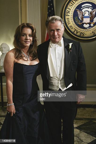 WING 'The Wedding' Episode 9 Air Date Pictured Stockard Channing as Abbey Bartlet Martin Sheen as President Josiah 'Jed' Bartlet Photo by Mitch...