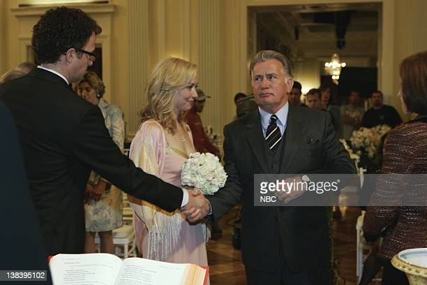 WING The Wedding Episode 9 Aired 12/4/05 Pictured Ben Weber as Vic Faison Nina Siemaszko as Eleanore 'Ellie' Bartlet Martin Sheen as President Josiah...