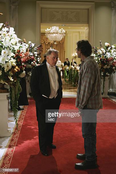 WING The Wedding Episode 9 Aired 12/4/05 Pictured Martin Sheen as President Josiah Jed Bartlet