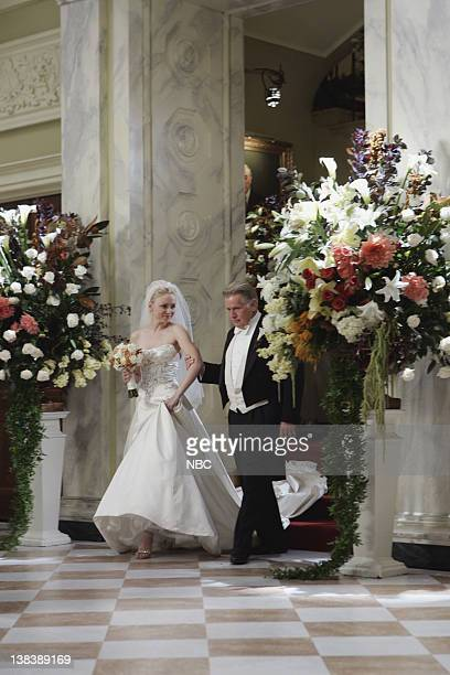 WING The Wedding Episode 9 Aired 12/4/05 Pictured Nina Siemaszko as Eleanore 'Ellie' Bartlet Martin Sheen as President Josiah Jed Bartlet