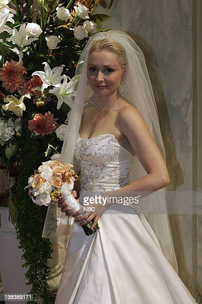 WING The Wedding Episode 9 Aired 12/4/05 Pictured Nina Siemaszko as Eleanore 'Ellie' Bartlet