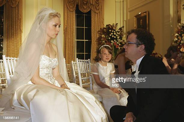 WING The Wedding Episode 9 Aired 12/4/05 Pictured Nina Siemaszko as Eleanore 'Ellie' Bartlet Ben Weber as Vic Faison