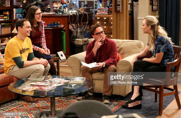 ''The Wedding Gift Wormhole' Pictured Sheldon Cooper Amy Farrah Fowler Leonard Hofstadter and Penny Sheldon and Amy drive themselves crazy trying to...