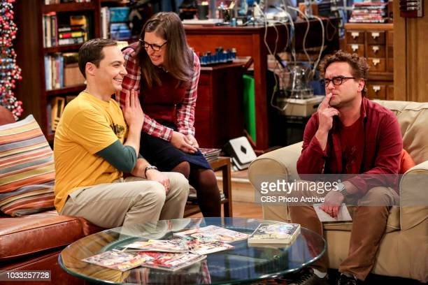 ''The Wedding Gift Wormhole' Pictured Sheldon Cooper Amy Farrah Fowler and Leonard Hofstadter Sheldon and Amy drive themselves crazy trying to figure...