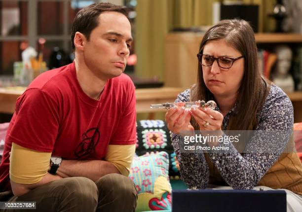 ''The Wedding Gift Wormhole' Pictured Sheldon Cooper and Amy Farrah Fowler Sheldon and Amy drive themselves crazy trying to figure out what 'perfect...