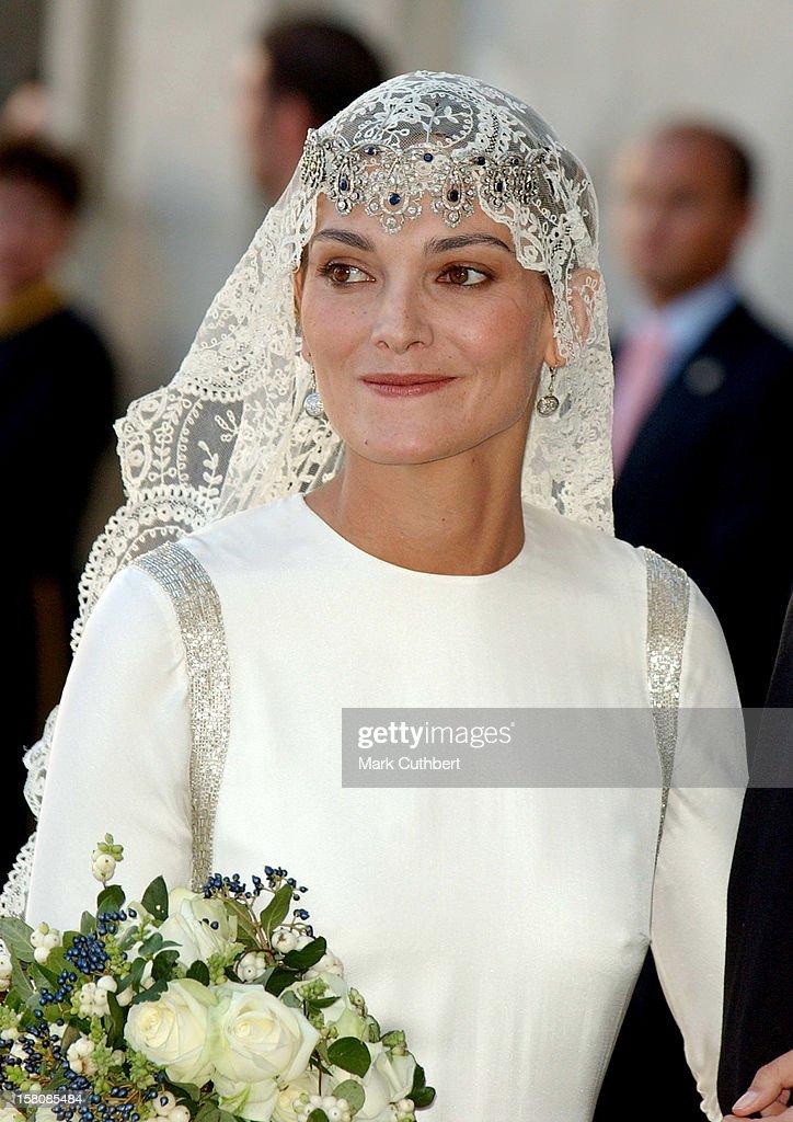 The Wedding Of Beltran Gomez-Acedo Y De Borbon & Laura Ponte Martinez Of Spain : News Photo