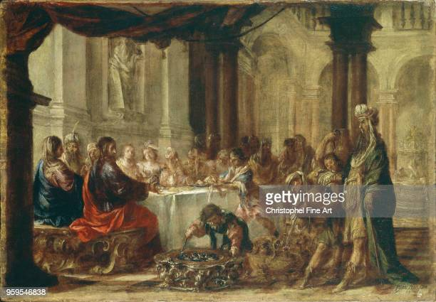 the wedding of cana 1660 Valdes Juan Louvre Museum Spain